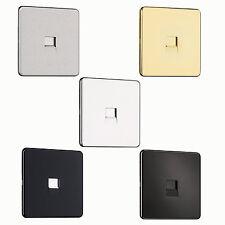EXCLUSIVE OFFER-Screwless Flat plate 1G Slave Phone Socket