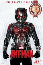 NEW ANT MAN IN SUIT SHRINKING MARVEL HERO FILM MOVIE ART PRINT PREMIUM POSTER