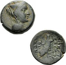 Mopsos Kilikien Bronzo 2.-1. Novecento. a.C. Tyche ZEUS Nikephoros GNS V grandezza 5732.