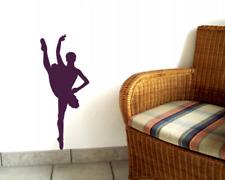 Wandtattoo Ballett Tänzerin Motiv 779 Wandaufkleber XXXL  25 Farben 10 Größen