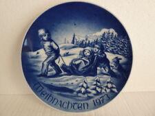 "BAREUTHER BAVARIA Christmas 1973 Ltd. Edition ""Sledding"""