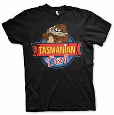 Licenza Ufficiale Diavolo della Tasmania T-Shirt Uomo Taglie S-XXL