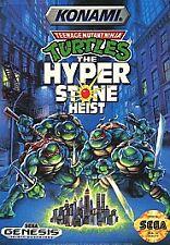Teenage Mutant Ninja Turtles: Hyperstone Heist (Sega Genesis, 1991) (Cart Only)