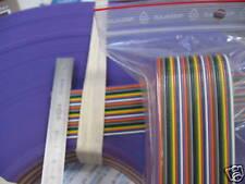 1 m de Câble en nappe couleur 30 conducteurs à souder