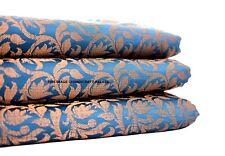 indian banarasi brocade silk dress making craft clothing drapery fabric-by-yard