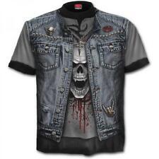 Camiseta Chico efecto 3D Tshirt allover Thrash Metal Spiral