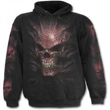 DTO 20% Sweat-shirt Enfant SPIRAL Capuche Goth Crâne TR342800- Rock,Metal,Go