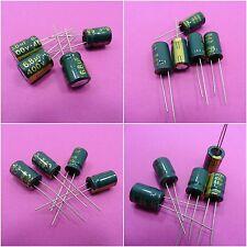Condensador electrolítico 400V baja ESR Tapa radial Genuino 105C 85C alta frecuencia