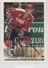 1995-96 Topps #198 Mark Tinordi Washington Capitals Hockey Card