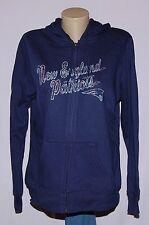 New England Patriots Womens Hoodie Classic Full Zip Sweatshirt - NFL
