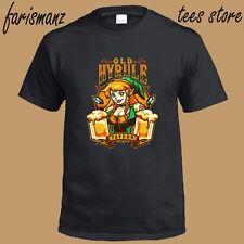 The Legend of Zelda Old Hyrule Tavern Gamer Men's Black T-Shirt Size S-3XL