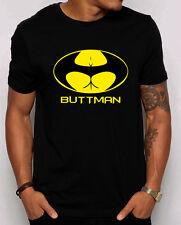 Buttman Unisex T-Shirt Funny superhero Parody humor College booty Bachelor shirt