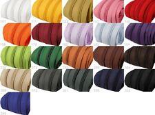 endlos Reißverschluss + 2 Zipper - 5mm Spirale - verschiedene Farben