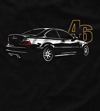 T-shirt for bmw e46 fans M3 csi 330 320 323i tshirt + Kapuzen