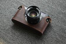 Genuine Leather Half Case Cover For Voigtlander Bessa R2 Camera Protector