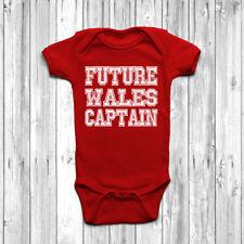 Il CAPITANO PILOTA Tuta Costume manica corta BABY BOY GIRL pagliaccetto bambino cresce 0-18M