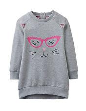 JOULES Tom Joule Kleid BABYKATINA Sweatshirt Dress grau  Gr.  56 - 98 NEU