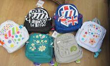 Kiddimoto Boys Girls Ruck sack back pack Lunch bag Age 2-6 Various designs.