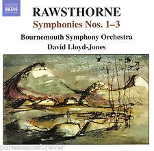 ALAN RAWSTHORNE - Symphonies Nos. 1-3 (Bournemouth SO) (UK 12 Tk CD Album)