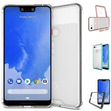 For Google Pixel 3/Pixel 3 XL Hybrid Soft TPU Shockproof Bumper Clear Case Cover