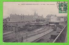 78 - SAINT GERMAIN EN LAYE - La Ville - Gare Intérieure (Trains)
