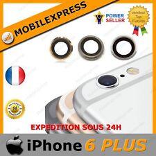 IPHONE 6 PLUS - LENTILLE VERRE POUR CAMERA APPAREIL PHOTO - GRIS/ARGENT/OR/ROSE