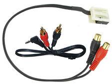 Citroen C4 aux input 3.5mm jack lead in car radio iPod MP3 adapter CT29CT01 2005