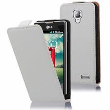 Etui Coque Housse PU Cuir Véritable Flip Cover pour LG F70 D315/ LTE
