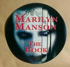 MARILYN MANSON THE BOOK PHOTO FACE ROUND Board Promo STICKER