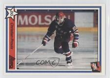 1990 7th Inning Sketch LHJMQ 218 Chris Pryor Saint-Jean Lynx (QMJHL) Hockey Card