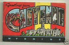 Cheyenne Wyoming postcard 1950