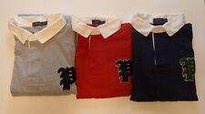 Polo Ralph Lauren Big & Tall Gothic P Jersey Rugby Shirt Long-Sleeved Shirt