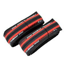 Vittoria Rubino Pro IV G2.0 GRAPHENE Clincher Tire 700x25C , Red/Black