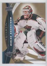 2009-10 Upper Deck Trilogy #32 Niklas Backstrom Minnesota Wild Hockey Card
