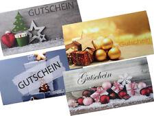10 Wickelgutgutscheine Geschenkgutschein Blanko WGS