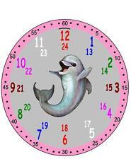 Wanduhr Lautlos Kinder Lernuhr Kinderuhr Uhr Einschulung mit Motiv Wunschmotiv