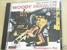 BIG BANDE BASH WOODY HERMAN DE BÛCHERON BALLE CD 6261