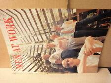Men At Work '83 Japan Tour Book d85319