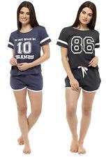 Damen Varsity Short Pyjama Set