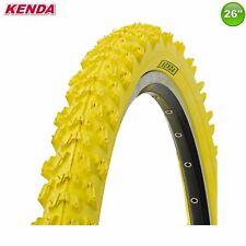 Kenda MTB k-829 neumáticos de bicicleta abrigo manta-amarillo - 26 x 1.95 - 50-559