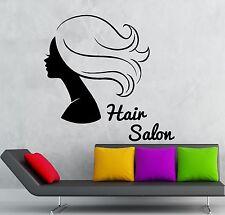 Wall Sticker Vinyl Decal Hair Salon Hairdresser Hairstyle Beauty Girl (ig2229)