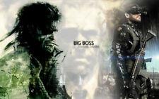 154218 Metal Gear Game Art Wall Print Poster CA
