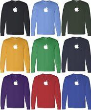 APPLE T-shirt Computer GEEK shirt cool LONG SLEEVE Tee