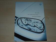 37787) VW Golf technische Daten & Ausstattungen Prospekt 10/1998