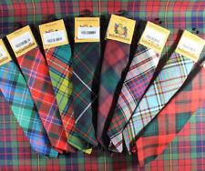 NUOVO Pura Lana highlandwear clan scozzese Tartan cravatta in oltre 170 ricercato!