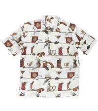 O'Neill Jack O'Neill Men Home Bru SS Buttom Front Woven Shirt Sz Medium