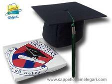 "cappello da laurea ""tocco"" tesi di laurea università Original Grad Hat verde"