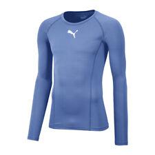 Puma LEGA Baselayer maniche lunghe azzurro F18