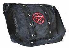 Renaissance School Gothic Unisex Pirate Victorian Vamp Books Black Shoulder Bag