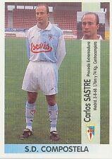 N°369 CARLOS SASTRE SD COMPOSTELA CROMO STICKER PANINI LIGA 1997